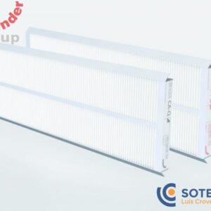 SET DE FILTROS ZEHNDER G4/F7 PARA COMFOAIR Q350 Q450 Y Q600