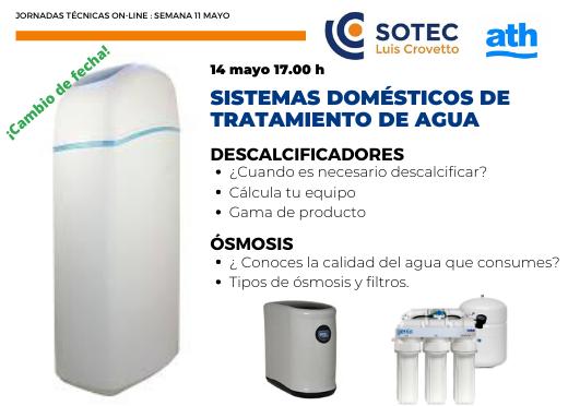 ATH formación Tratamiento de agua Jueves 14 mayo Sotec