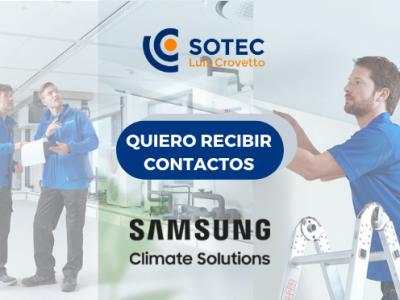 Campaña Samsung Aerotermia Otoño invierno 2020 Instaladores