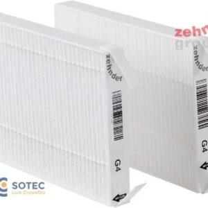 Set de filtros para Comfospot 50 G4/G4